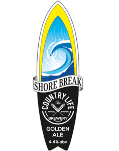 shore break country lie brewery