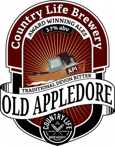 Old appledore ale country life brewery devon